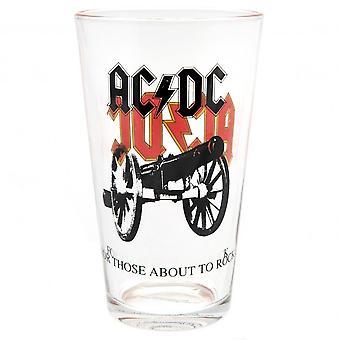 AC/DC vidro grande