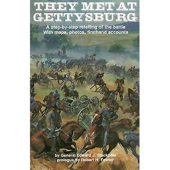 They Met at Gettysburg - A Step-by-Step Retelling of the Battle with M