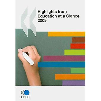 Highlights from Education at a Glance - 2009 - 9789264063723 Book