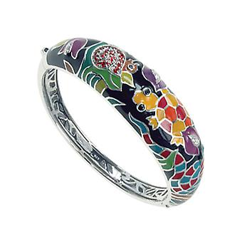 Belle Etoile Galapagos Black Bangle  07021010201-M