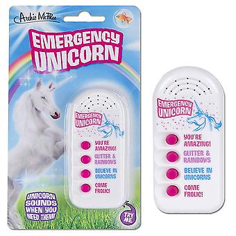 Archie McPhee Emergency Unicorn Button