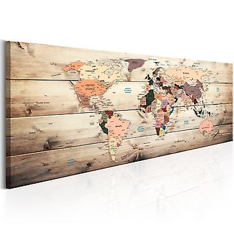 Canvas Print - World Maps: Map of Dreams