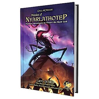 Call of Cthulhu 7th Edition Masques de Nyarlathotep Slip Case Edition
