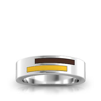 The University of Wyoming Ring In Sterling Silver Design by BIXLER