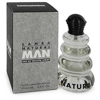 Samba Natural door parfumerie workshop Eau de Toilette Spray 3,4 oz (mannen) V728-401309