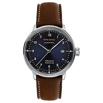 Iron Annie Bauhaus | Automatic | Brown Leather Strap | 5056-3 Watch
