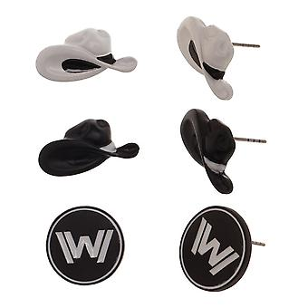 Earrings - WestWorld - Icon Ear Ring Stud Pack New Licensed eg6cz5wes