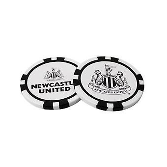 Newcastle United Poker Chip Ball Markers