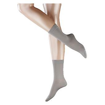 Falke Cotton Touch chaussettes - Silver