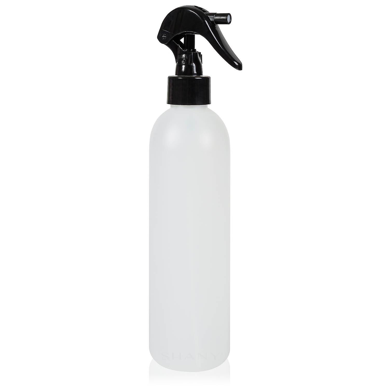 SHANY Plastic Bottle with Black Mini Trigger Sprayer - 16 oz