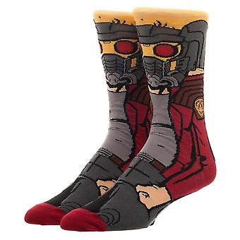 Guardians of the Galaxy Starlord Character Crew Socke