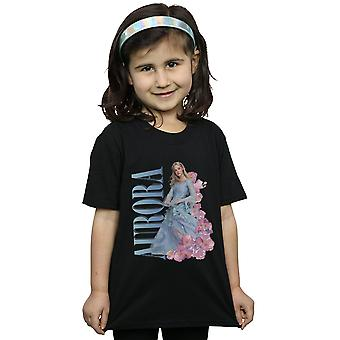 Disney Girls Maleficent Mistress Of Evil Aurora Homage T-Shirt