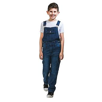 Benjamin Kinder Darkwash Denim Dungarees (Alter 4 & 6 Jahre)
