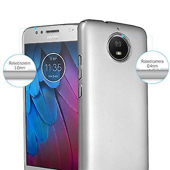 Cadorabo Tilfelle for Motorola MOTO G5S tilfelle tilfelle deksel - Hardcase plast telefon veske mot riper og støt - Beskyttende case støtfanger ultra slank tilbake tilfelle hardt deksel