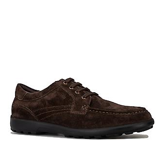 Mens Geox Romaryc loafers i brun