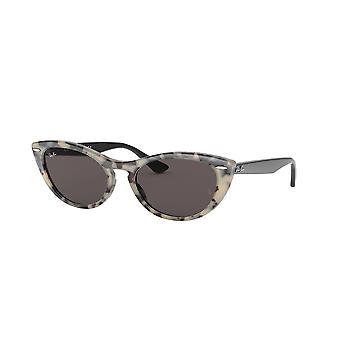 Ray-Ban Nina RB4314N 125139 Havanna Beige/Grau Spiegel Gold Sonnenbrille