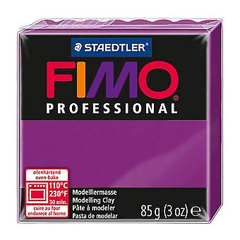 Fimo Professional Modelling Clay, Violet, 85 g