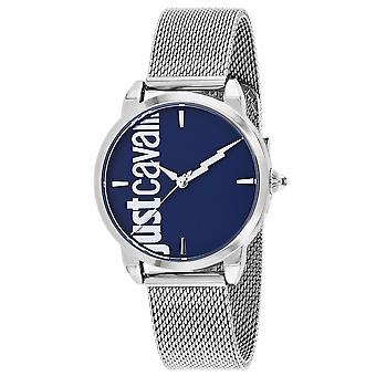 Just Cavalli Women's Tenue Blue Dial Watch - JC1L079M0045