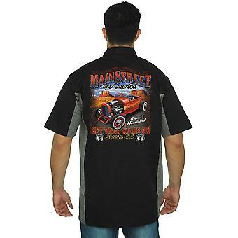Herren mechanische Arbeit Hemd Mainstreet von Amerika