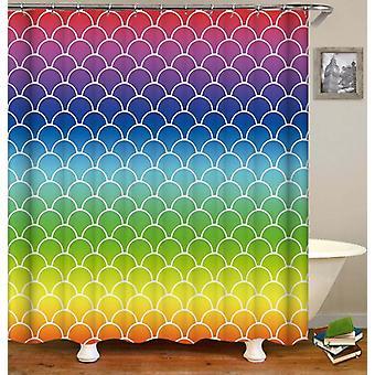 Rainbow Arches Shower Curtain