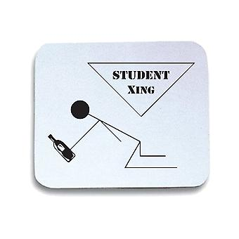 White mouse pad trk0731 student xing