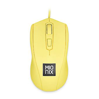 Mionix Avior Optical 5000dpi Gaming Mouse Wired USB French Fries Yellow