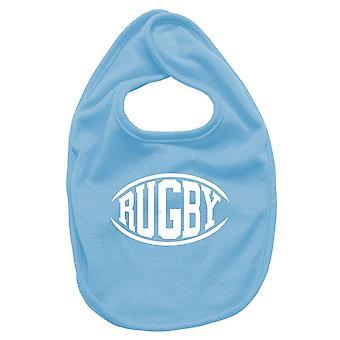 Bavaglino neonato turchese dec0273 rugby