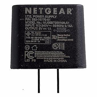 NetGear seinä laturi adapteri 5V/1A (332-10770-01/MU05BT050100)