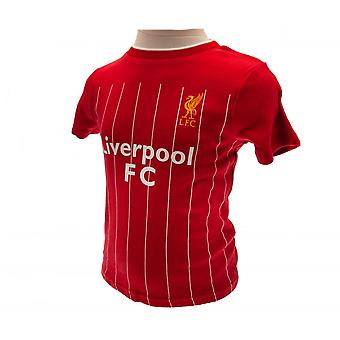 Liverpool FC Baby Unisex Shirt & kurze Set