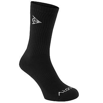 Dunlop Kids 2pk Perf Crew sokken jongens elastisch enkel Tennis opleiding Sport