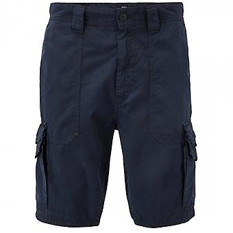 Boss Orange Boss Sargo Combat Cargo Chino Shorts Navy Blue 404 50403768