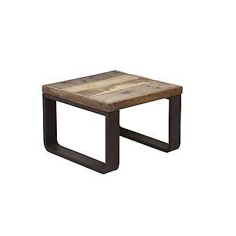 Light & Living Coffee Table 65x65x45cm Cuenca Railway Wood