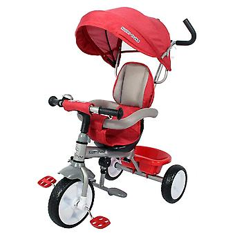 RideonToys4u Easy Steer Pedal Buggy Trike Red Ages 18 Months+