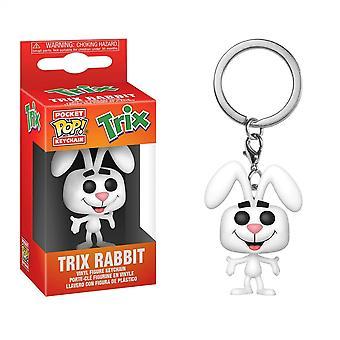Icônes de l'ad - Trix Cereal Trix Rabbit Funko Pop! Porte-clés