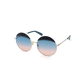 Loewe LW40007U 33W Gold/Blue Gradient Peach Sunglasses