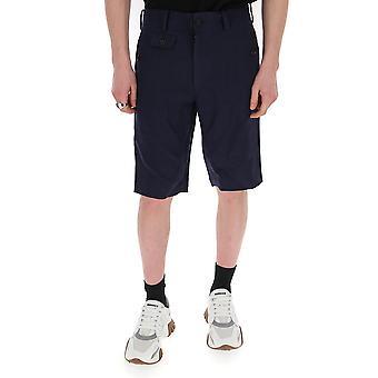 Junya Watanabe P0390511 Hommes-apos;s Blue Cotton Shorts