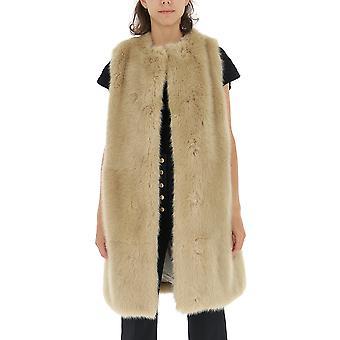 Stella Mccartney 582462snb692701 Women's Beige Nylon Coat