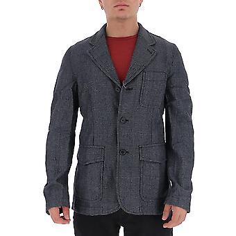 Comme Des Garçons Shirt W271681 Men's Grey Cotton Blazer