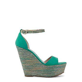 Paris Hilton Original Women All Year Wedge - Groene kleur 31426