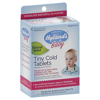 Hyland's baby tiny cold, tablets, 125 ea