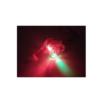 Jewelry and crowns  Luminous whistle red