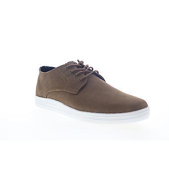Ben Sherman Payton Oxford  Mens Brown Canvas Low Top Sneakers Shoes