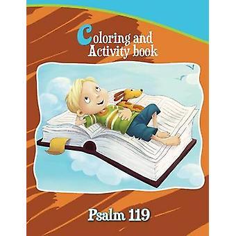 Psalm 119 Coloring and Activity Book by de Bezenac & Agnes