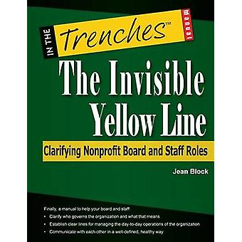 The Invisible Yellow Line Clarifying Nonprofit Board and Staff Roles by Block & Jean