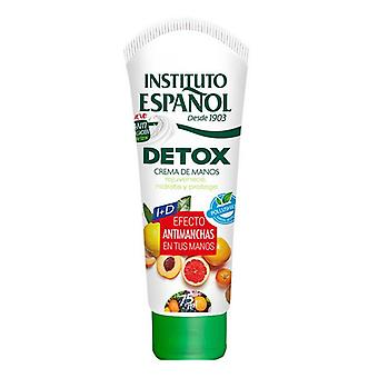Anti-Brown Spot Hand Cream Detox Instituto Español (75 ml)