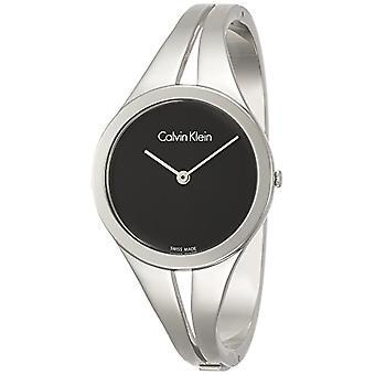 Calvin Klein ladies Quartz analogue watch with stainless steel band K7W2M111