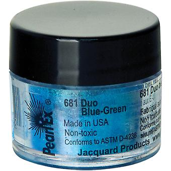 Jacquard Pearl Ex Powdered Pigment 3g-Duo Blue-Green