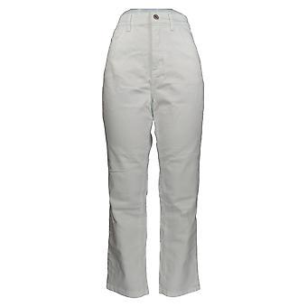 Denim & Co. Women's Jeans Classic Denim Ankle Length White A304475