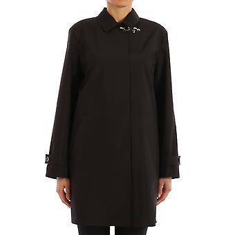 Fay Naw61404370rpe1112 Women's Black Polyester Outerwear Jacket