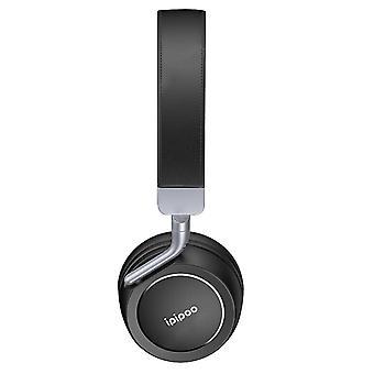 Wireless Audio Bluetooth Headphones Stereo Bass Micro 12H EP-1- Ipipoo, Black